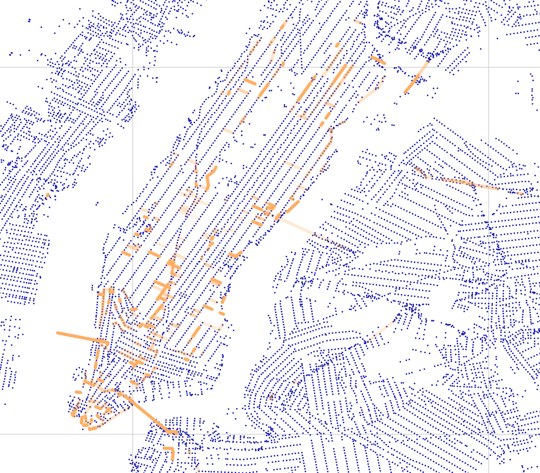 Traffic Patterns In New York City Mathematics At Illinois