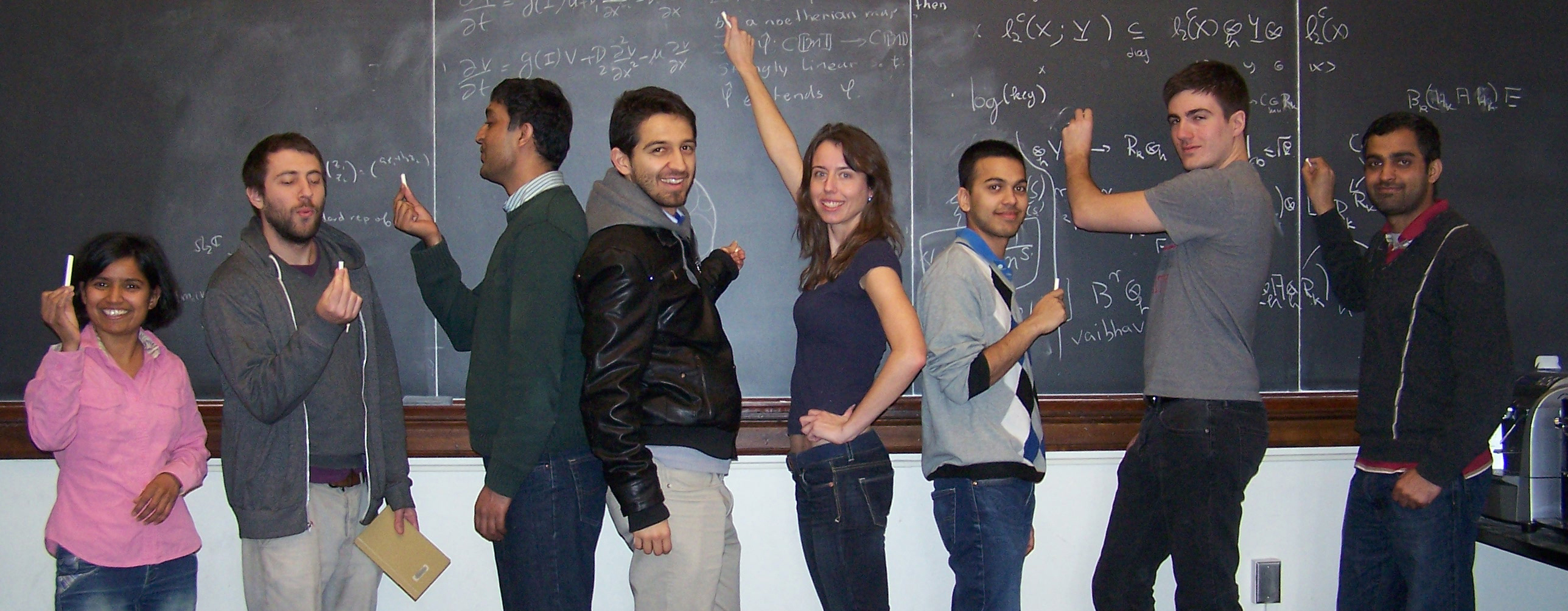 Mathematics graduate students at Illinois