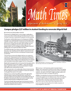 Math Times 2018 spring/summer issue