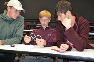 IGL and Central High students learn knots
